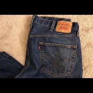 Levi's Jeans - vintage levis 501 button fly